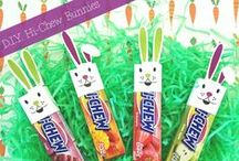Easter / Find fun DIY Hi-Chew bunnies, Hi-Chew carrots and more!