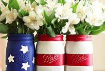 Happy 4th / Creative ideas for the 4th of July or and USA inspired party! / by Colleen Cruickshank