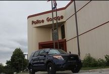 KCPD cars / Kansas City Missouri Police Department cars.