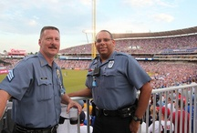 2012 All-Star Game / Kansas City Missouri Police Department had about 300 police personnel devoted to the events throughout the city for the 2012 All-Star Game, with an additional 85 officers working inside Kauffman Stadium. Regular neighborhood patrols were not affected. Officers working All-Star events were on special assignment.