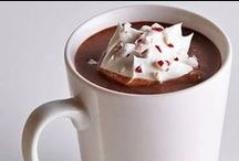 Hot Drinks (Coffee and Cocoa) / Hot chocolates, coffees, and hot cocoa! / by Sarah Copeland