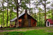 Our Log Cabin...hand made by us! / by Sanna Davis