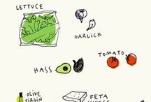 illustrated recipes / by The Handcrafted Story