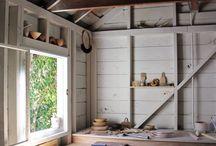 Artist studios / Inspiring creative spaces for artists.