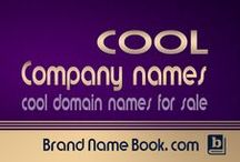 Cool Company Names for Sale / Domain names for sale, Cool business names and company names ideas, #Branding ideas, Cool #domain names for sale.