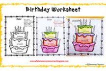 esl Birthday Theme