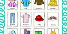 esl clothes / Clothes Theme Resources for the ESL Students and Teachers