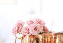 rose gold & copper