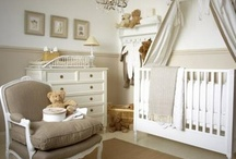 Nurseries / Baby nurseries that are as much for the parents as the babies!  Chinoiserie, traditional, french, glam, palm beach.