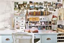 Office/Studio Ideas / by Ellie Sylvia