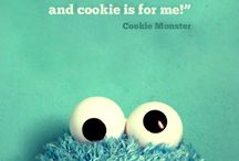Cookie Monster / candy too!