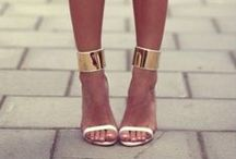 The Higher the Heels, the Closer to Heaven / pretty pumps, stilettos, flats, and sandals / by taylor marie