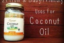 Coconut oil  / by Carissa Karabinus