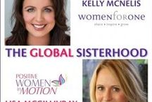 The Global Sisterhood / The Global Sisterhood unites women from around the world through a radio show format of inspired conversation. Our discussion with insightful guests will educate, engage and connect each of us to take positive action in our lives. http://www.blogtalkradio.com/theglobalsisterhood
