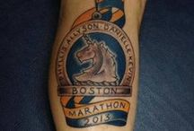 Running Tattoos / Sometimes we just have to honor how crazy we are, and show it on our bodies!