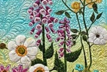 Art Quilts / Art quilting, modern quilts, and landscape quilts / by FaveQuilts