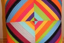 Rainbow Quilts / Rainbow quilt patterns and modern quilts