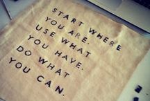 Inspiring Quotes / by WOW Furniture