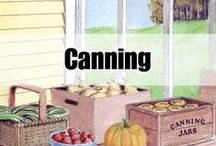 CANNING : METHODS/TIPS / by Connie Huffman