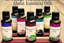 ESSENTIAL OILS/USES / by Connie Huffman