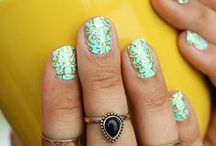 Fanciful Fingertips / Be polished.