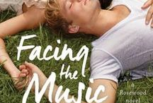 Facing the Music - Rosewood Book #1 / A board for FACING THE MUSIC coming from Pocket Star, 8/14