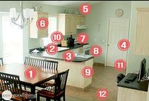 CLEANING TIPS : KITCHEN / by Connie Huffman