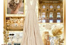 White and gold inspiration