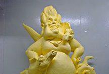 Butter Sculptures / by Liz Dyer