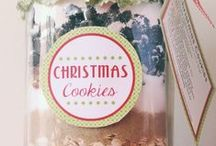 CHRISTMAS GIFT JARS / by Connie Huffman