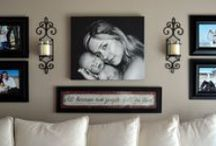 DECORATING : WALL DECOR / by Connie Huffman