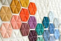 Modern Quilt Patterns / Modern quilt patterns are becoming more and more popular! Find geometric quilt patterns, brightly colored quilt patterns, and other unusual quilting patterns here.