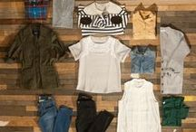 Capsule Wardrobe Ideas / Outfit ideas for creating and using a capsule wardrobe.