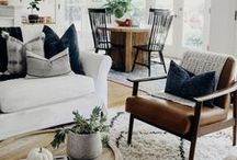 home spaces / Inspiration for all things beautiful and cozy at Home