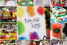 birthday fun and food / kids party ides / by Noelle Roundy-Woitt