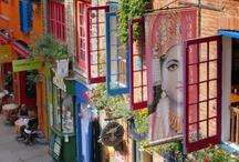Doors Stairs Windows & Knocks / by Peppy Rubinstein