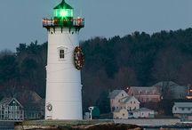 Lighthouses & Sea / by Peppy Rubinstein