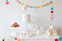 Party Ideas / Cute and clever ideas for birthdays, dinner parties, or other holiday bashes.
