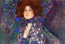 Gustav Klimt / by Peppy Rubinstein