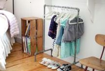 Exposed Closets