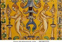 Tiles, Mosaics, Ceramics & Pottery / by Peppy Rubinstein