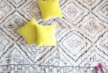 Floors / Gorgeous rugs, hardwood floors, and amazing tile.