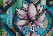 Art Journal Ideas / Art Journal Ideas