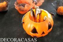 HALLOWEEN DIY / Como fazer uma festa de Halloween em casa, com passo a passo detalhado e ideias simpáticas em preto e laranja para você arrasar. Flávia Ferrari mostra tudo para você!