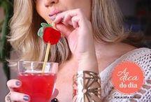 DRINKS, SUCOS E BEBIDAS / Receitas de drinks diferentes, bebidas com e sem álcool, quentes e frias, além de sucos refrescantes para incrementar o seu dia a dia. Todas as receitas deste painel foram testadas e aprovadas pela Flávia Ferrari