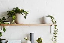 Pretty Spaces At Home / Little nooks and crannies and spaces I would love to incorporate into my home someday. Minimal, modern, and comfy places.