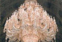 Chandeliers / by Chaska Peacock
