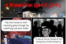 A Christmas Ghost Story / A modern take on Dickens' classic tale. A Manhattan ghost story.