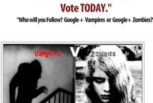 GENRE WARS: Vampires v Zombies / The GENRE WARS Have Begun!!!
