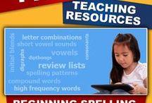 Online Spelling / Links to online spelling tools, online spelling resources, online spelling apps, and online spelling websites for education.